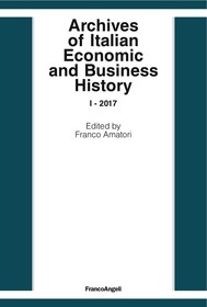 Archives of Italian Economic and Business History - copertina