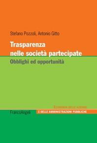 Trasparenza nelle società partecipate - Librerie.coop
