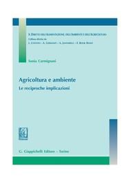 Agricoltura e ambiente. - copertina