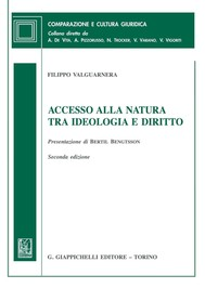 Accesso alla natura tra ideologia e diritto - copertina