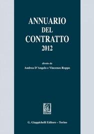 Annuario del contratto 2012 - copertina