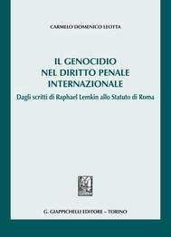 Il genocidio nel diritto penale internazionale - copertina