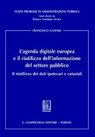 L'agenda digitale europea e il riutilizzo dell'informazione del settore pubblico - Librerie.coop