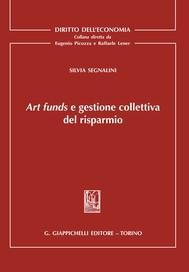 Art funds e gestione collettiva del risparmio - copertina