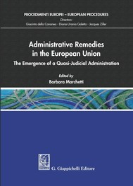 Administrative Remedies in the European Union - copertina