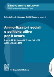 Ammortizzatori sociali e politiche attive per il lavoro - copertina