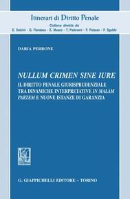 Nullum crimen sine iure - copertina