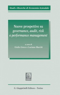 Nuove prospettive su governance, audit, risk e performance management - Librerie.coop