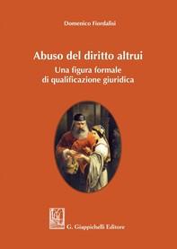 Abuso del diritto altrui - Librerie.coop