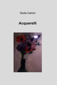 Acquerelli - copertina