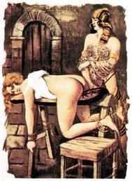 Alex und die verdorbenen Schulmädchen von Fallon Hill - copertina