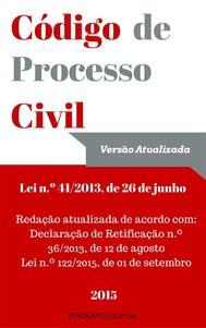 Código de Processo Civil Português - copertina