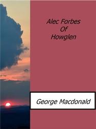 Alec Forbes Of Howglen - copertina