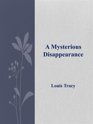 A Mysterious Disappearance - copertina