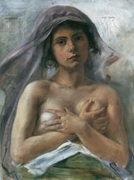 Lovis Corinth: unverhüllte weibliche Reize - copertina
