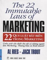 22 Quy Luật Bất Biến Trong Marketing - copertina