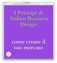 I principi di Italian Business Design Come aprire il tuo mercato - copertina