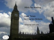 Hints for Reading...Hard Times    Charles Dickens  - copertina