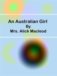 An Australian Girl - copertina