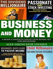 Business and Money: 4-Book Complete Collection Boxed Set For Beginners - copertina