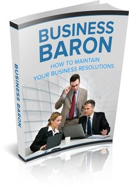 Business Baron – Your Way to Keep Your Business Resolution - copertina