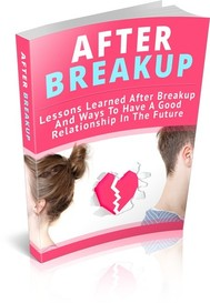 After breakup - copertina