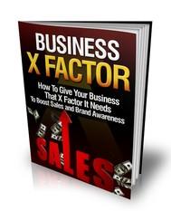 Business X Factor - copertina