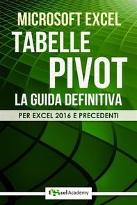 Tabelle Pivot - La guida definitiva - Librerie.coop