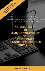 Amministrazione del Personale Paghe & Contributi 2016 - copertina