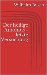 Der heilige Antonius - letzte Versuchung - copertina
