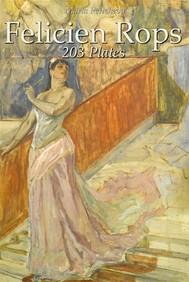 Felicien Rops: 203 Plates - copertina