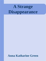 A Strange Disappearance - copertina
