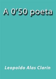 A 0'50 poeta - copertina