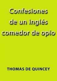 Confesiones de un inglés comedor de opio - copertina