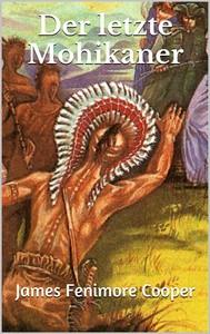 Der letzte Mohikaner - copertina