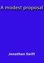 A modest Proposal - copertina