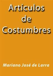Articulos de Costumbres - copertina
