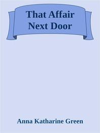 That Affair Next Door - Librerie.coop