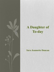 A Daughter of To-day - copertina