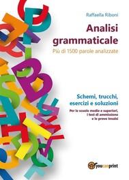 Analisi grammaticale - copertina