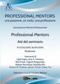Professional Mentors. Atti del seminario - Librerie.coop