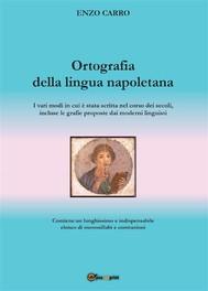 Ortografia della lingua napoletana - copertina
