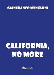 California, no more - copertina