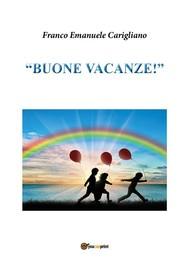 """""""Buone Vacanze!"""" - copertina"""