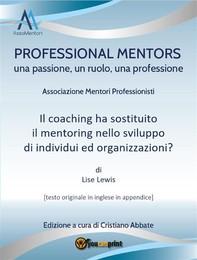 Il coaching ha sostituito il mentoring nello sviluppo di individui ed organizzazioni? - Librerie.coop
