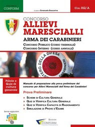 012A | Concorso Allievi Marescialli Arma dei Carabinieri (Prova Preliminare) - copertina
