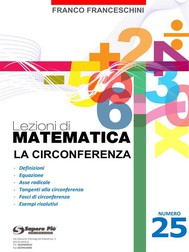 Lezioni di matematica 25 - La Circonferenza - copertina