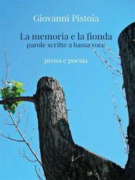 La memoria e la fionda - copertina