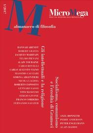 Micromega: 1/2017 Almanacco di filosofia - copertina
