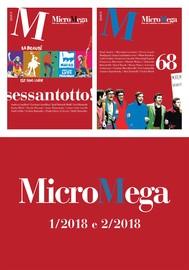 Micromega: 1 e 2/2018 - copertina